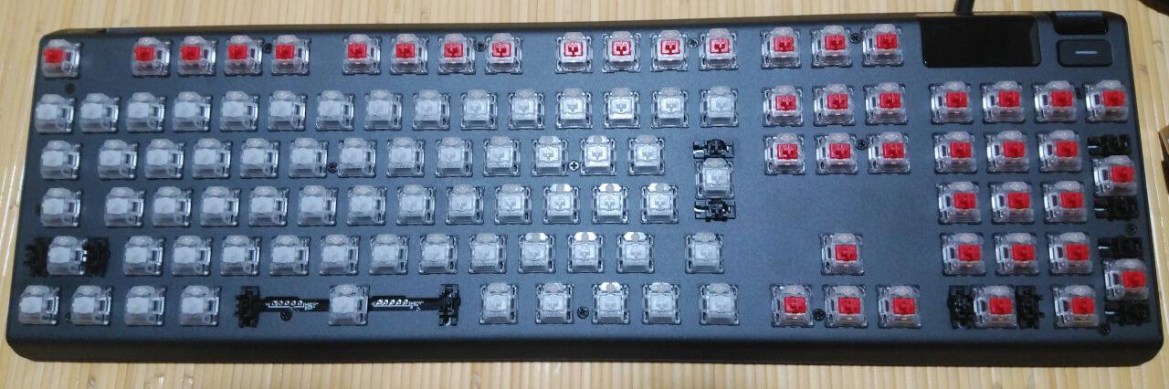 Apex Pro 二種類のスイッチ
