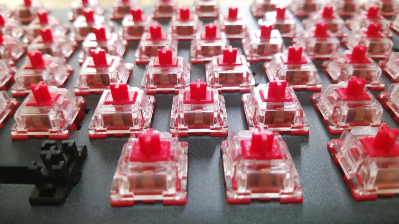 HyperX Redスイッチ